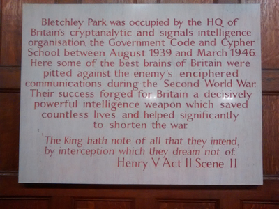 2016-History of Bletchley Park